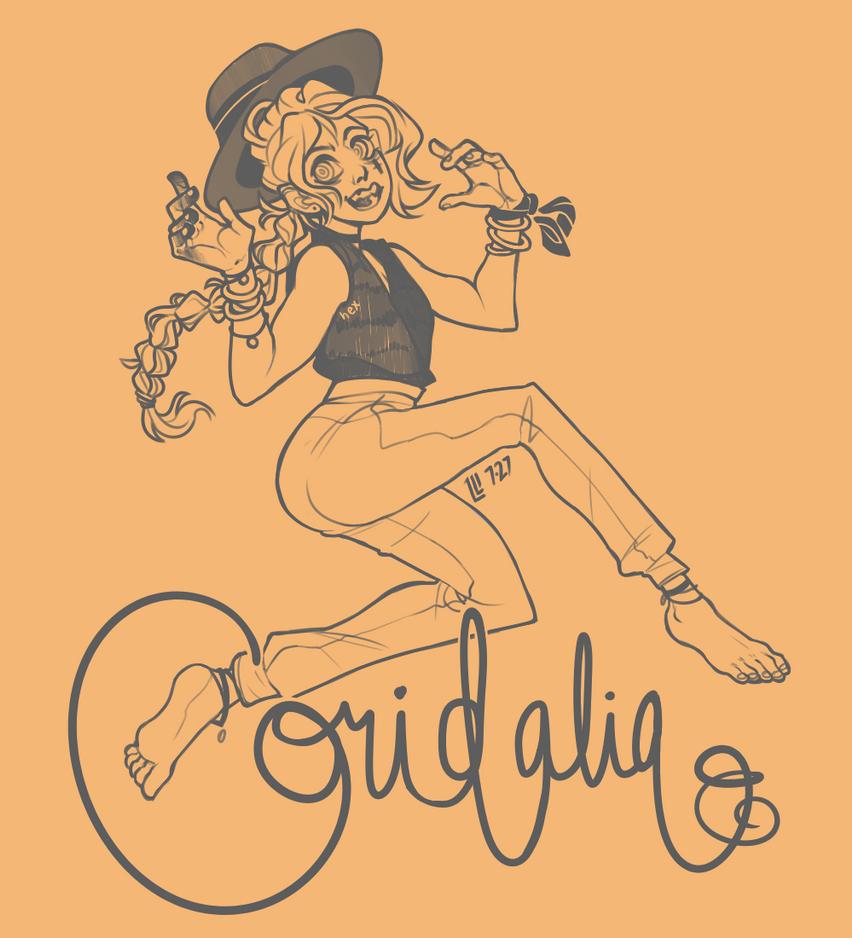 Coridalia- orange by PeanutPumpkinPie