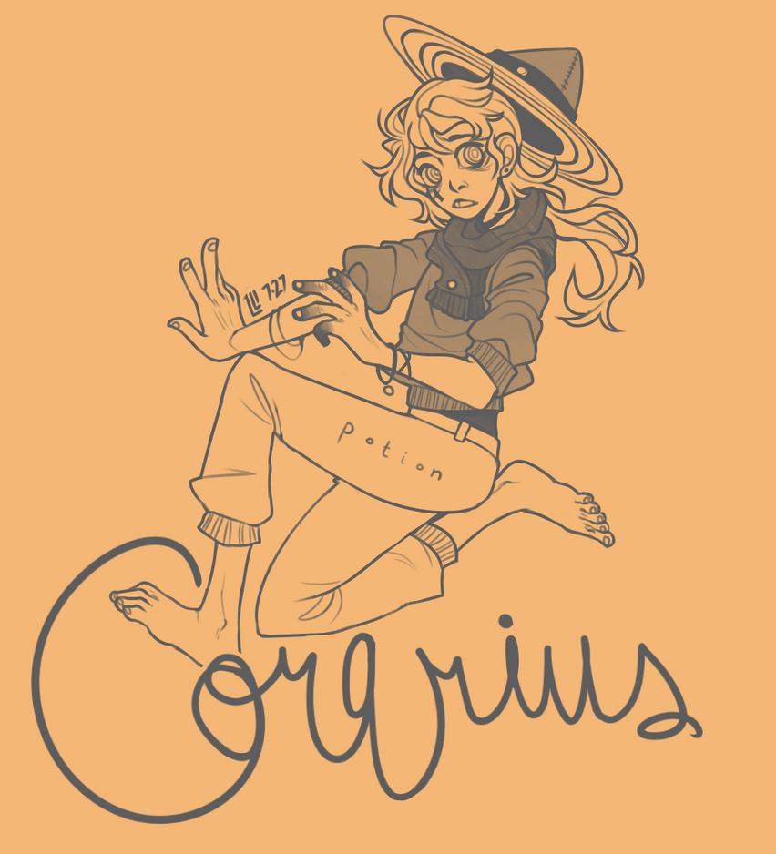 Corarius- orange by PeanutPumpkinPie