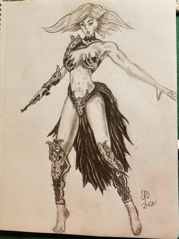 Dragon Priestess  by C4Blastin