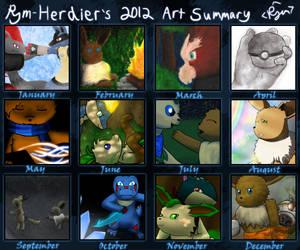 Rym-Herdier's 2012 Art Summary