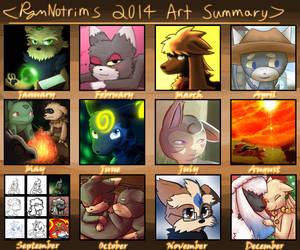 RymNotrim's 2014 Art Summary