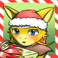 Nia christmas icon by RymNotrim