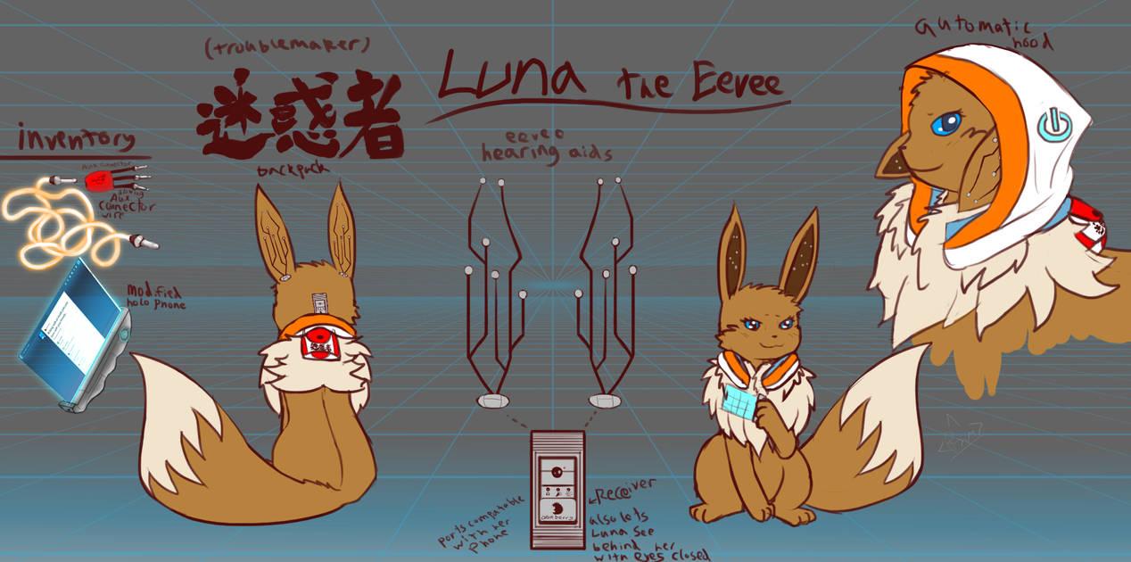 Luna PMDLG concept art by RymNotrim