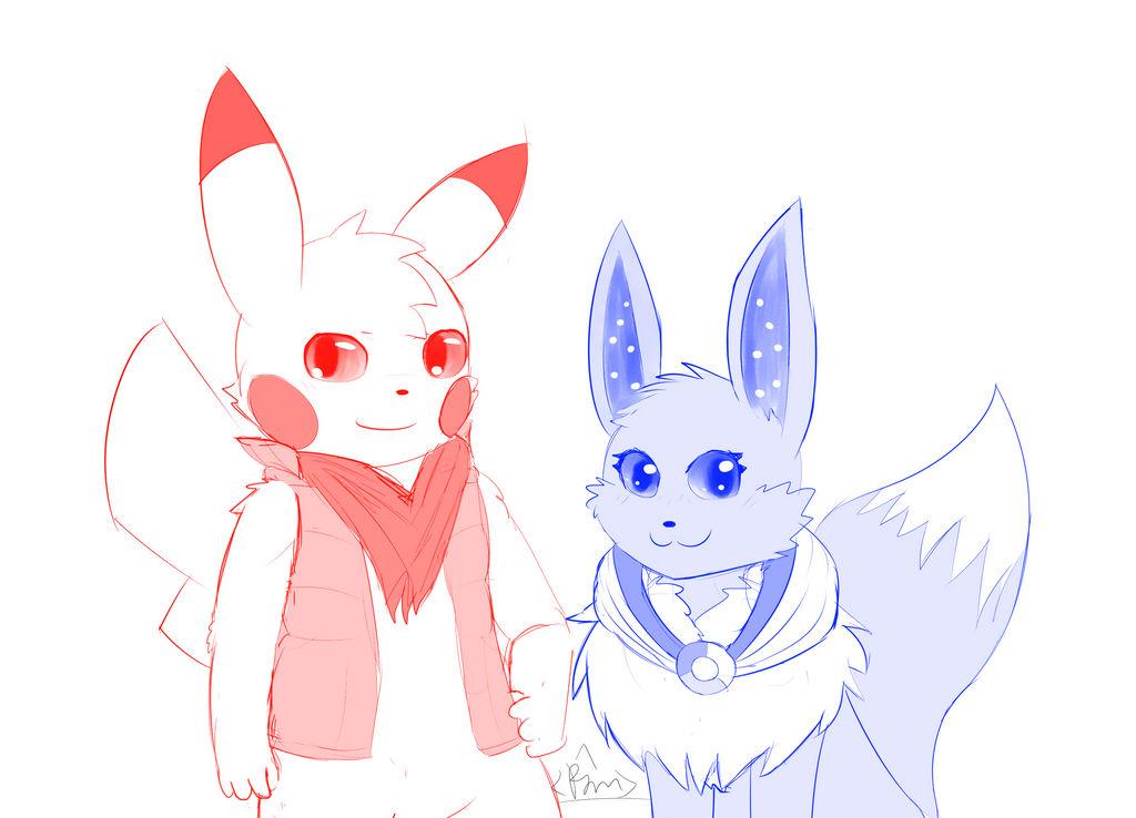 Jason and luna by RymNotrim
