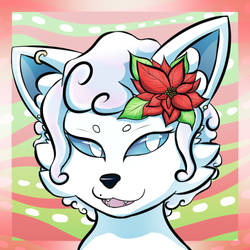 Hibiscus holiday icon
