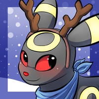 DoggoMoon Holiday Icon by RymNotrim