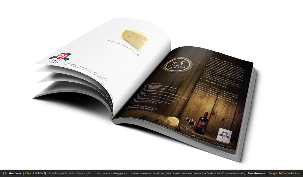Magazine Advertising 01 by francoterranova on DeviantArt
