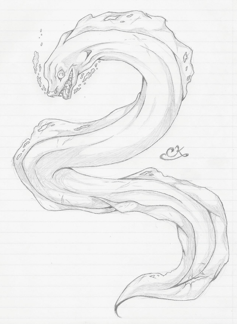 Related Keywords & Suggestions for eel sketch - photo#23