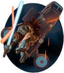 Ithorian Jedi by artpox