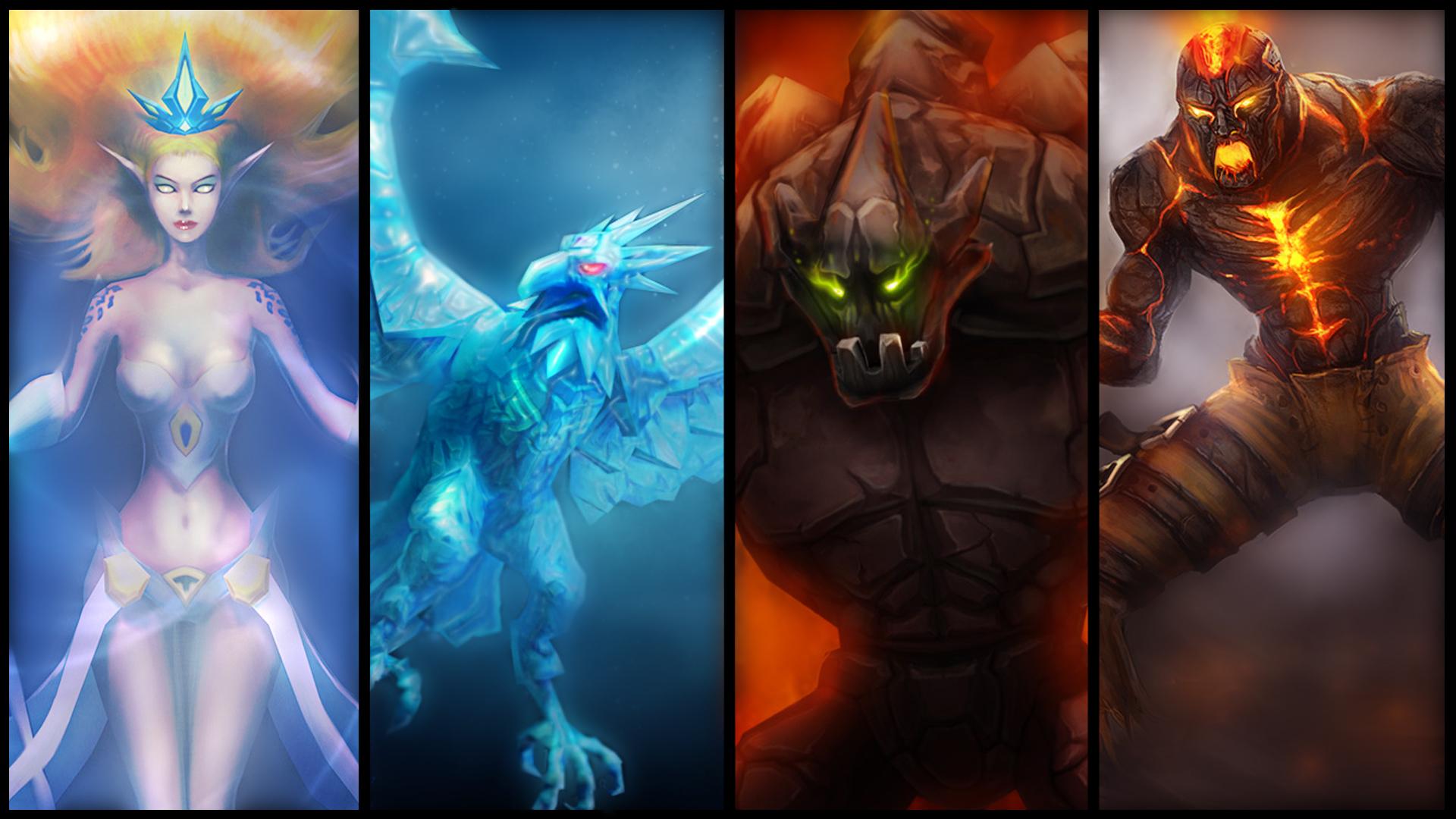 4 Elements Of Art : League of legends elements by tyrox on deviantart