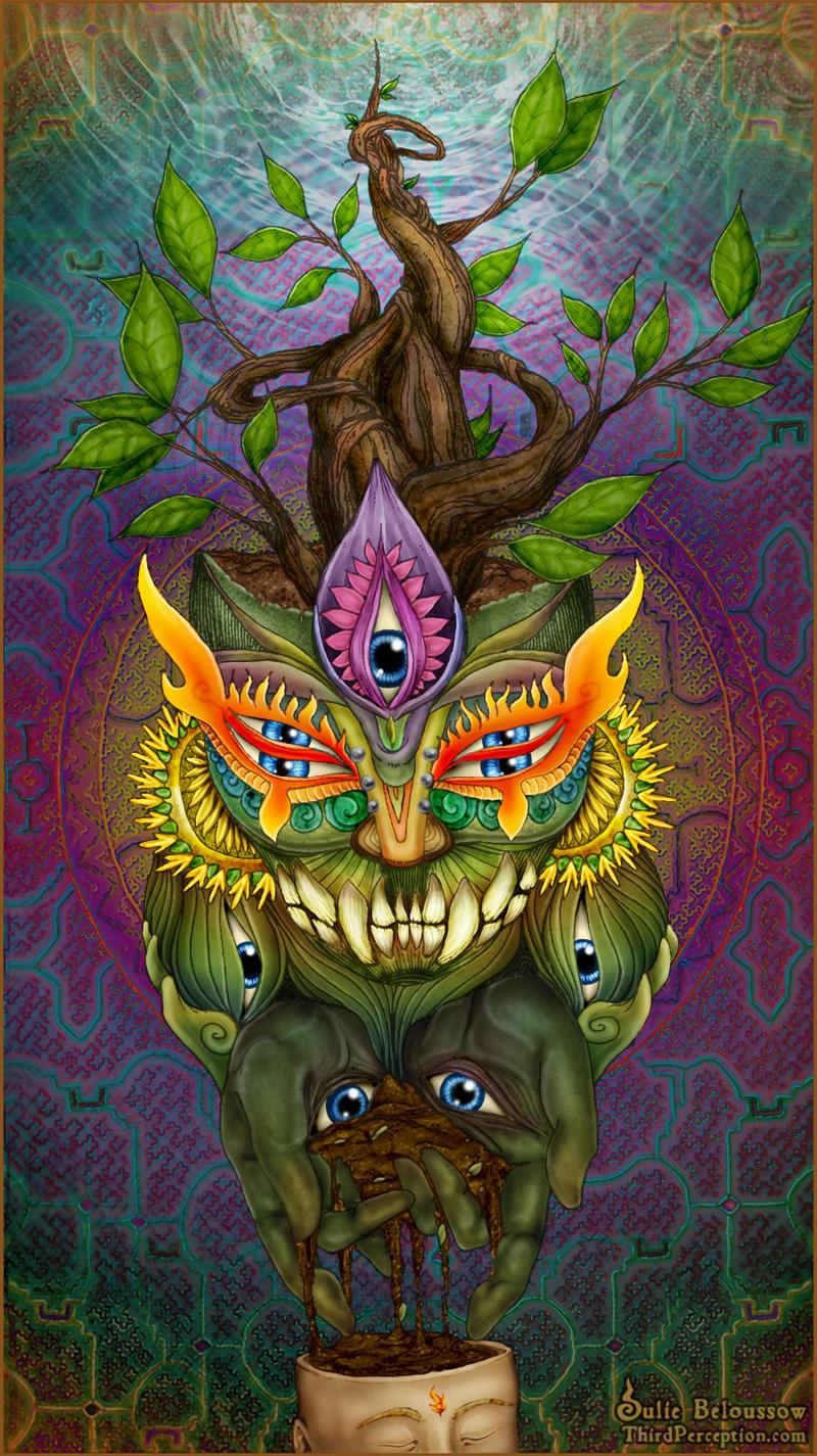 Botanical Wisdom by JulieBeloussow