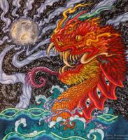 Naga Rising by JulieBeloussow