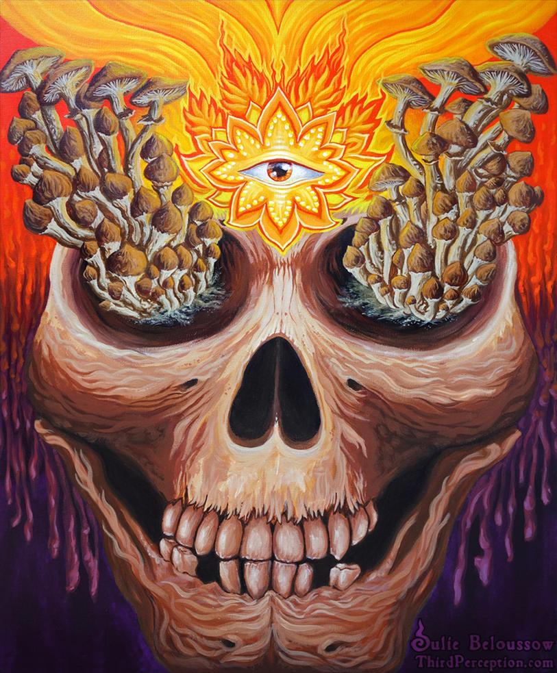 Ego Death by JulieBeloussow