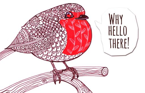 Robinbirdie by Landale