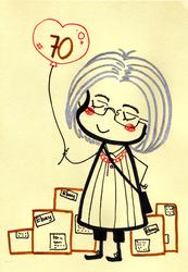 Ann70thbirthdaycard by Landale