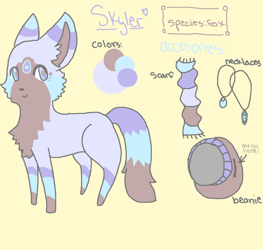 Skyler Reff Sheet by ChammiBee