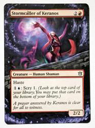 Stormcaller of Keranos by laurimaijala