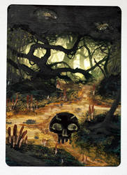 Swamp, altered art 1 by laurimaijala
