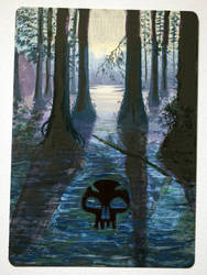 Swamp, altered art 2 by laurimaijala