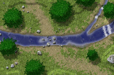 River Battle Map