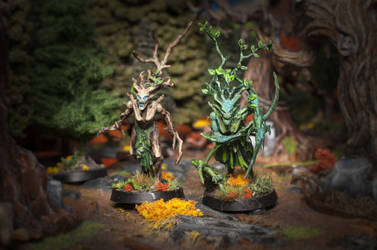 Dryads for Age of Sigmar by laurimaijala