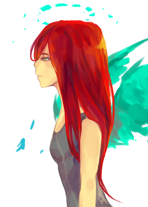 red by lightinatunnel
