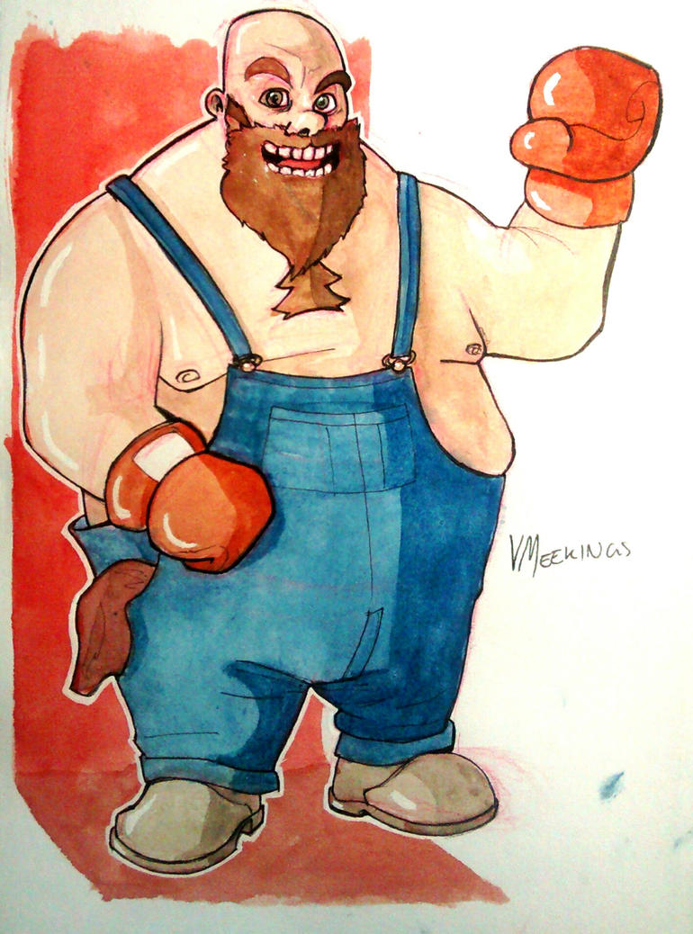 Bear Hugger by meekon-star98