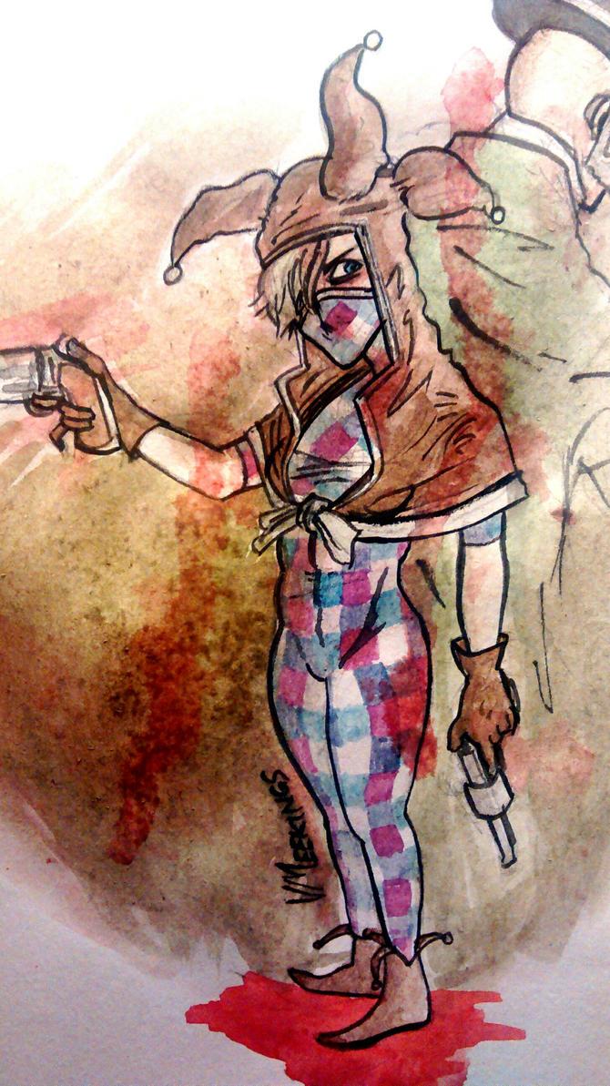 Viola and Sort of Underwood by meekon-star98
