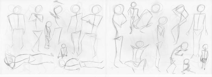 Gesture Drawing 3 by Axkarth