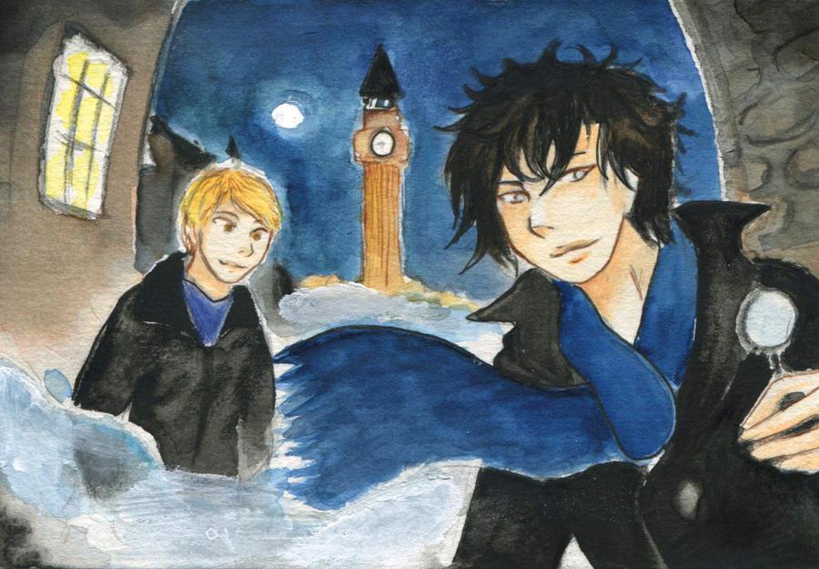 Sherlock by Yunuyei