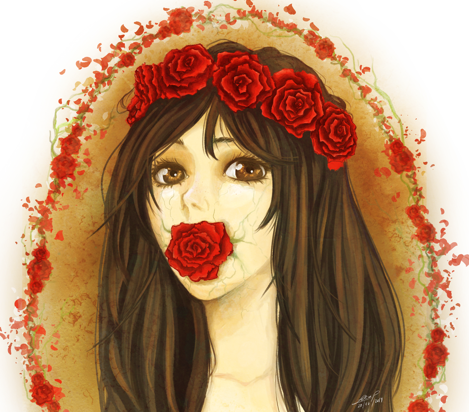 Lady's Rose by Leeeliaaa