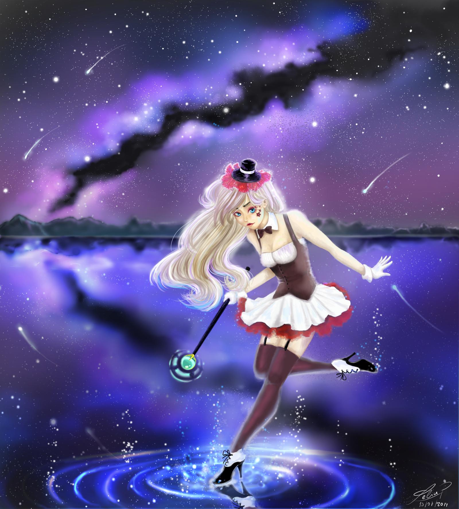 Magic steps by Leeeliaaa