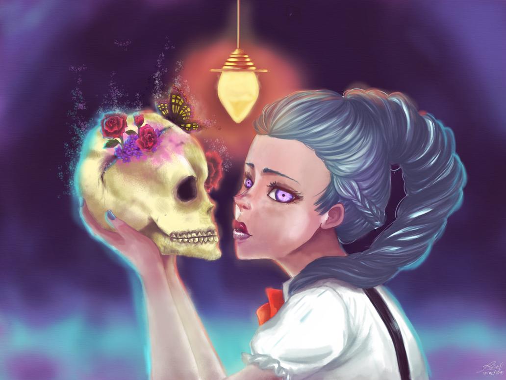 Nona - Death Parade by Leeeliaaa