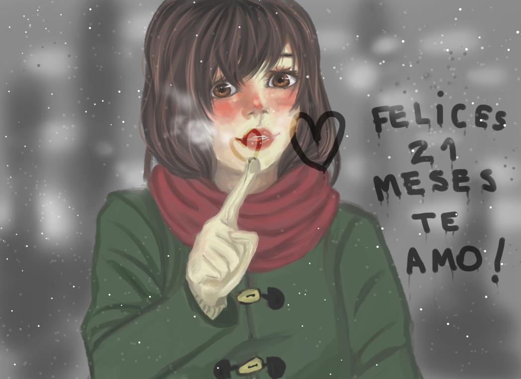 Felices 21 Meses by Leeeliaaa