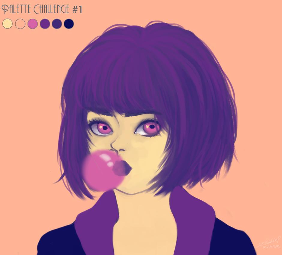 Palette Challenge #1 by Leeeliaaa