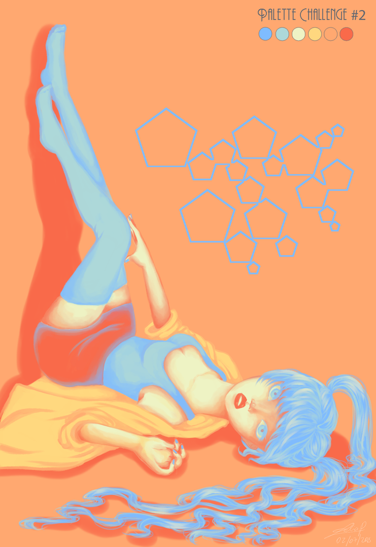 Palette Challenge #2 by Leeeliaaa