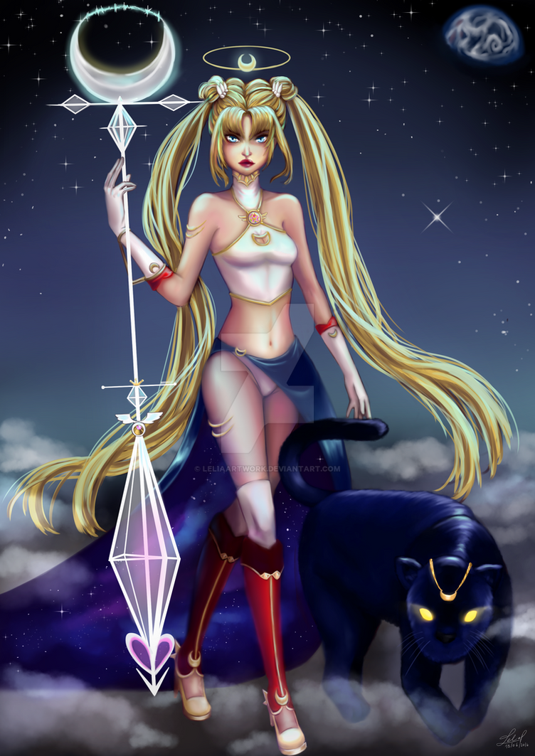 Injustice Sailor Moon.:Character Challenge:. by Leeeliaaa