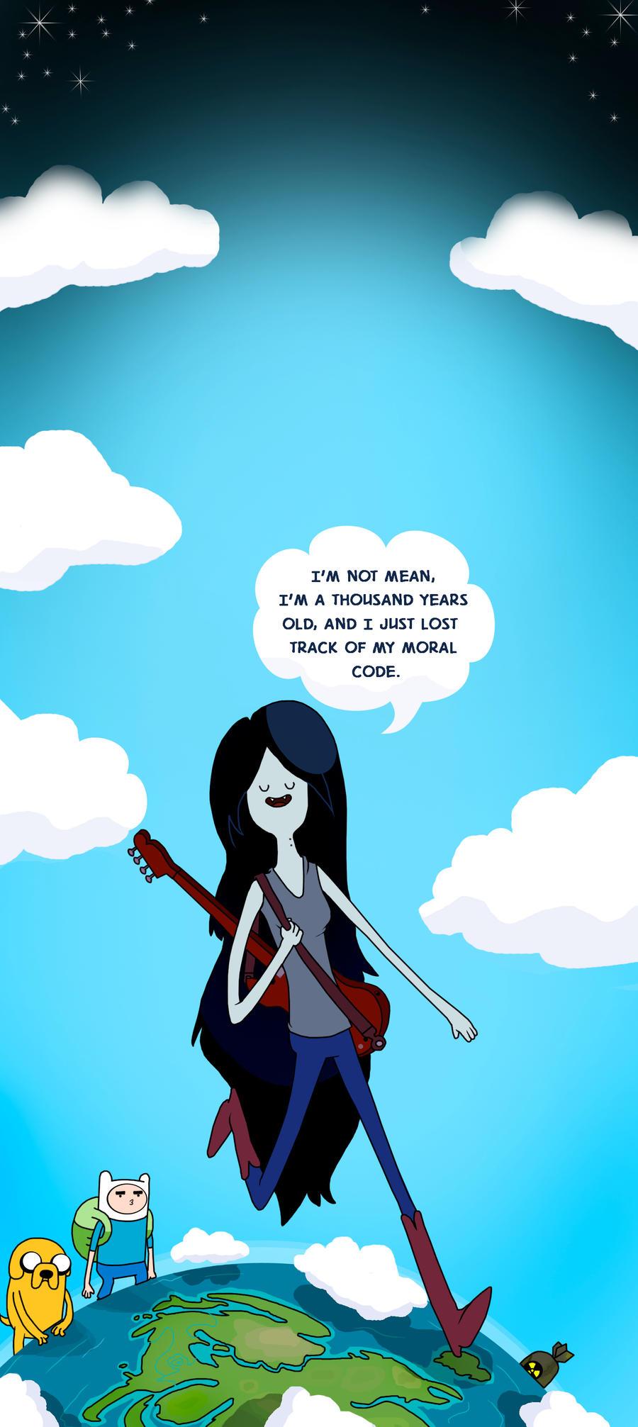 Marceline: The Vampire Queen by beta-joovey