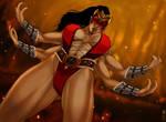 Sheeva the power Full armor n paint by zakuman