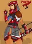 Pumyra look back Red