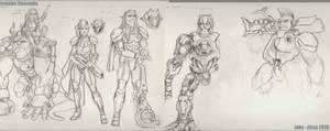 Lunatacs sketches