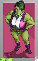 She Hulk top down revived classic