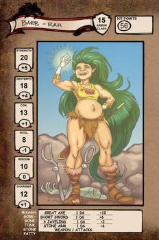Barb-Rah character sheet