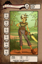 Lola character sheet
