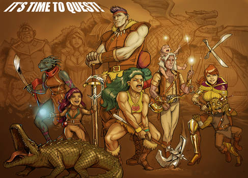 It's time to Quest!