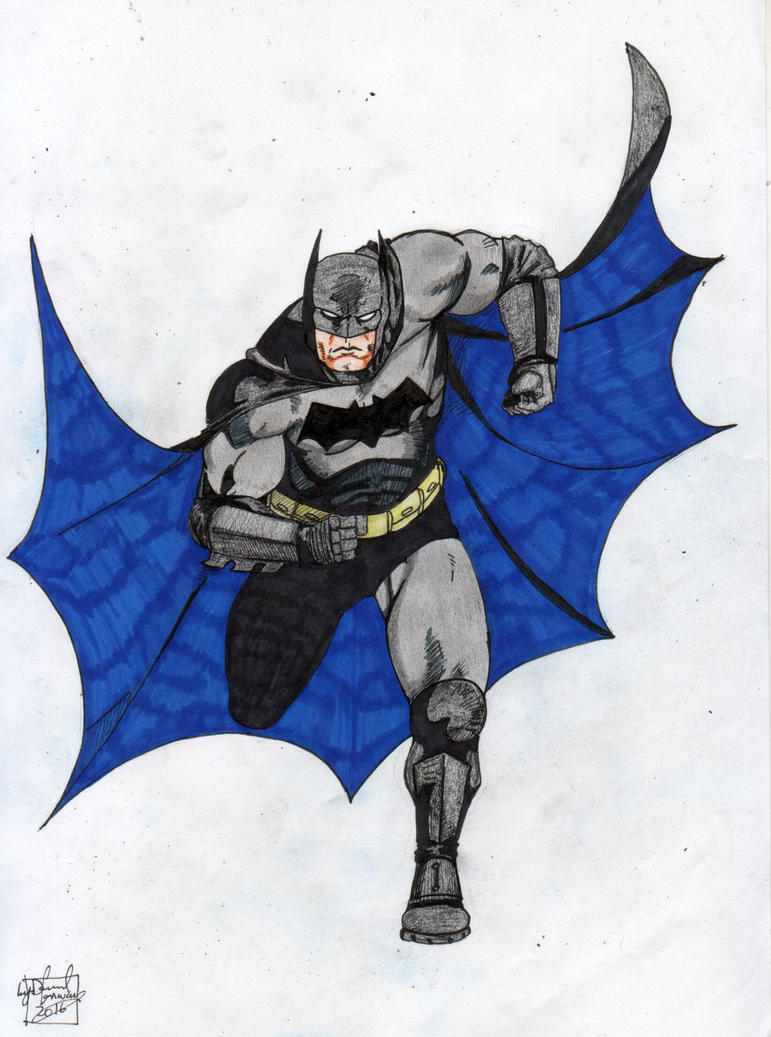 Bat man by Dconway