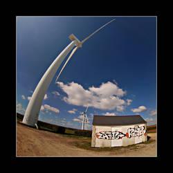 Fisheye + Wind mill