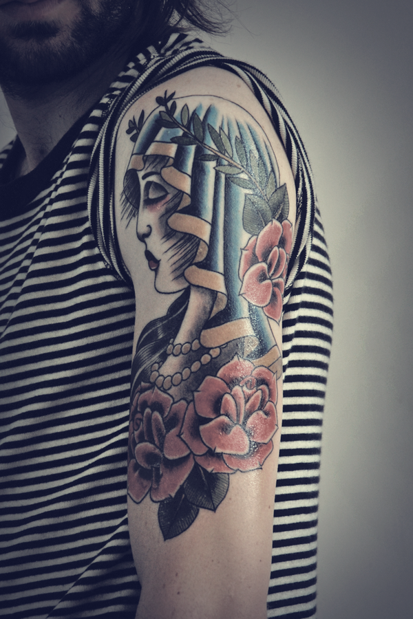 My new tattoo by Elroymedia