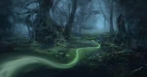Swamp Spirit by ChillPill39