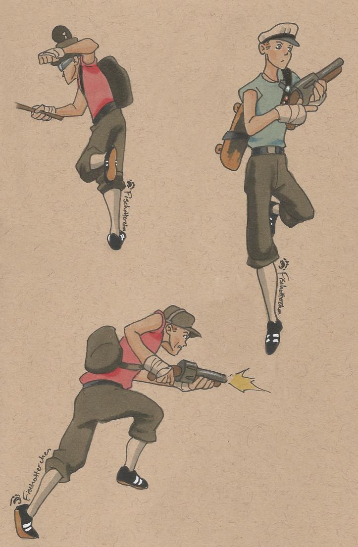 Scoots by Fischotterchen